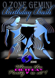 Gemini O Zone Bday Bash