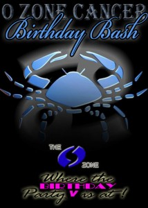 O Zone Swingers Club B Day Bash