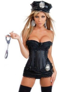 sexy cop - swingers halloween