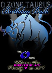 Image of a blue bull on black background, depicting Taurus, the astrological sign.