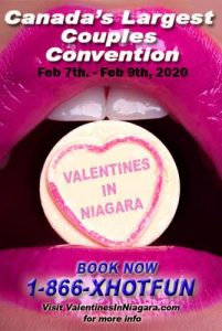 Poster for Valentines In Niagara, Feb 7-9, 2020